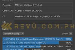 Huawei-MateBook-D15-2021-CineBench-benchmark-score-via-Revu-Philippines