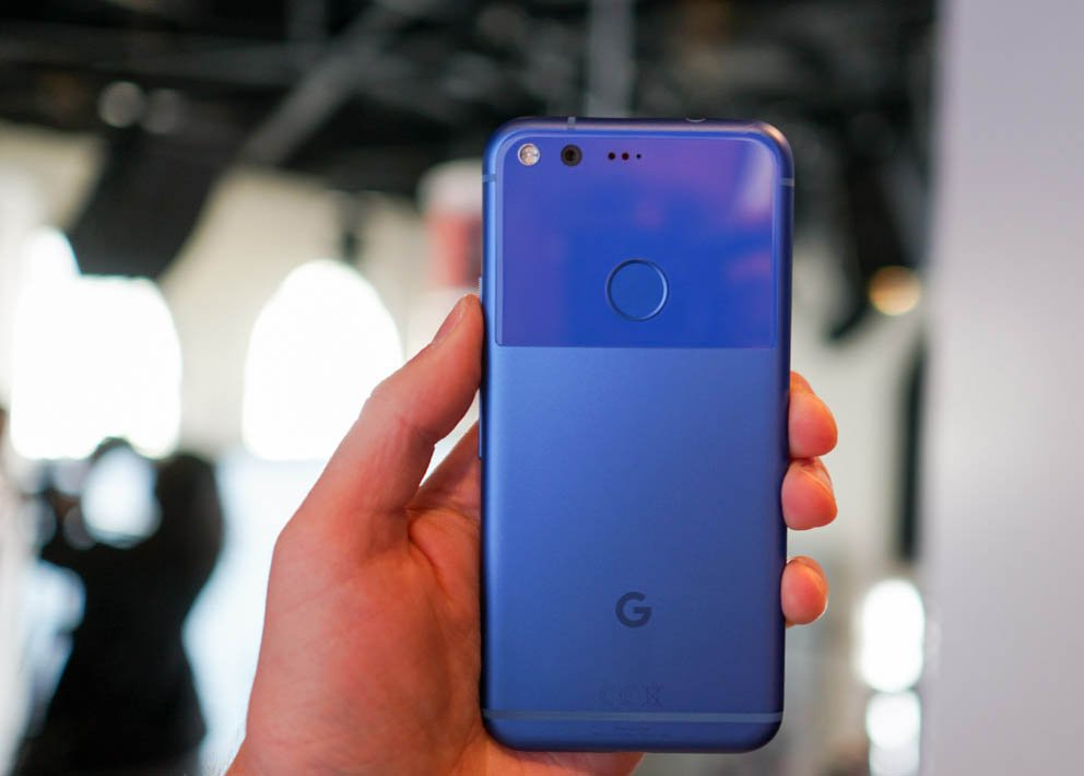 Blue Google Pixel by Droid Life