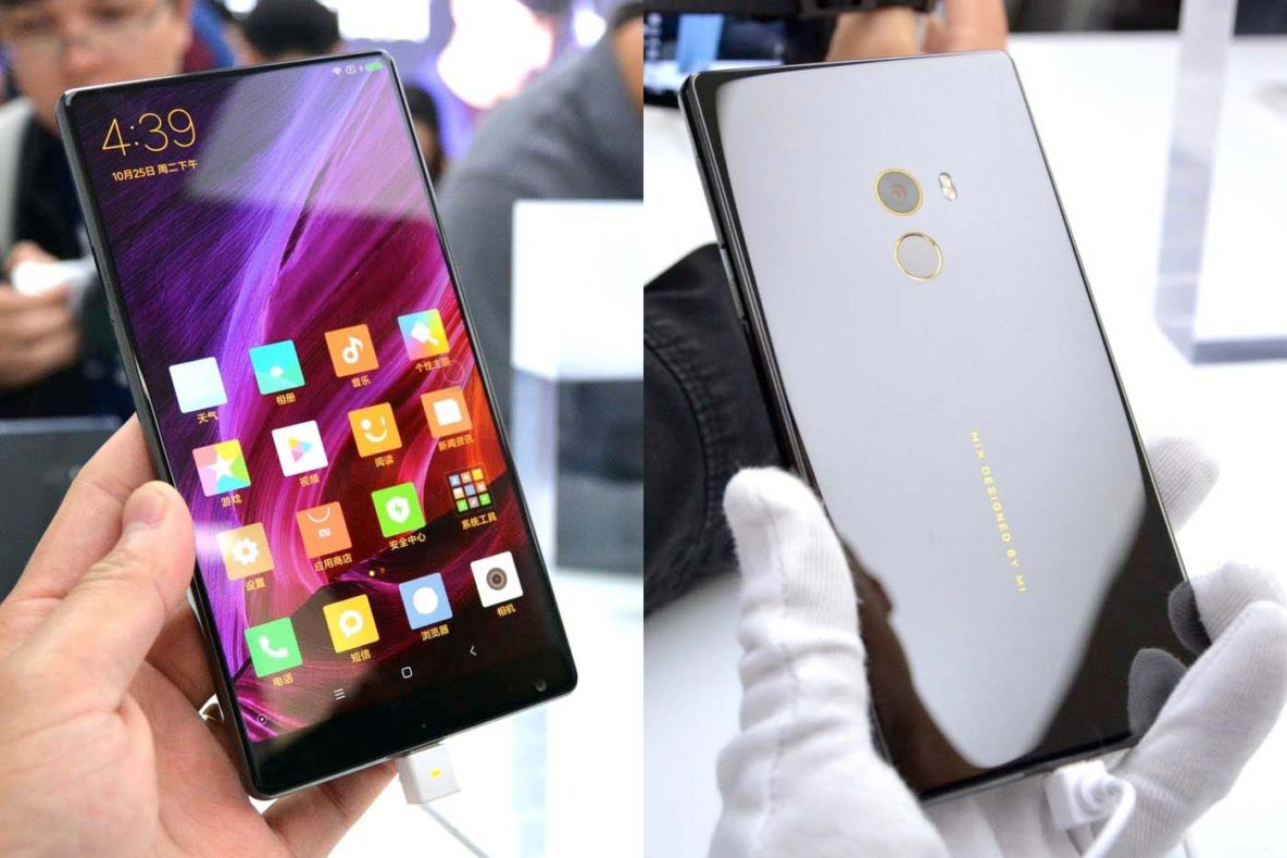 Xiaomi Mi MIX front and back by Engadget