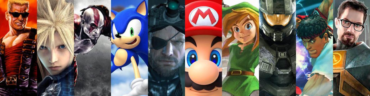 The 10 most popular guys in gaming