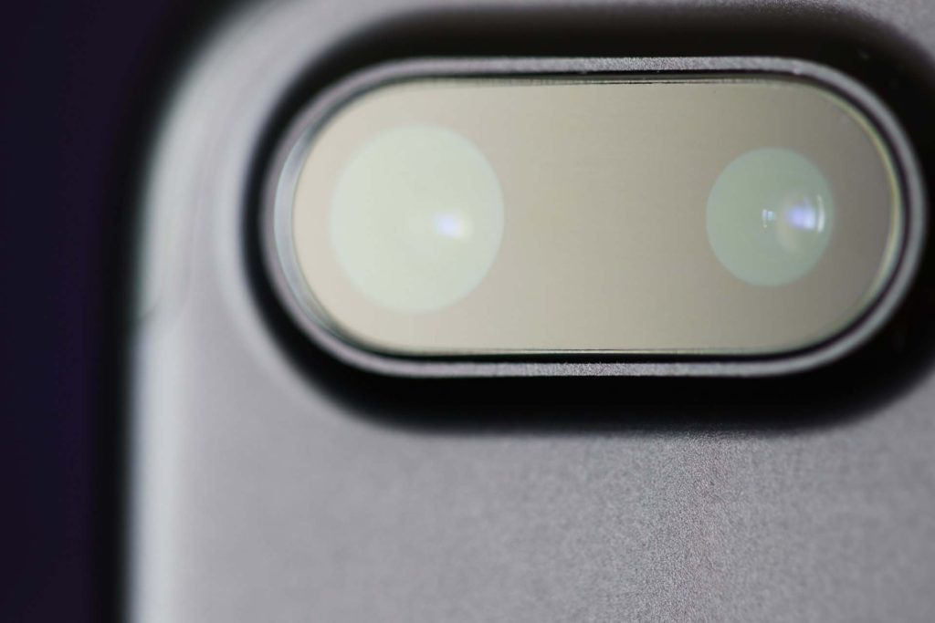 The Apple iPhone 7 Plus' dual cameras