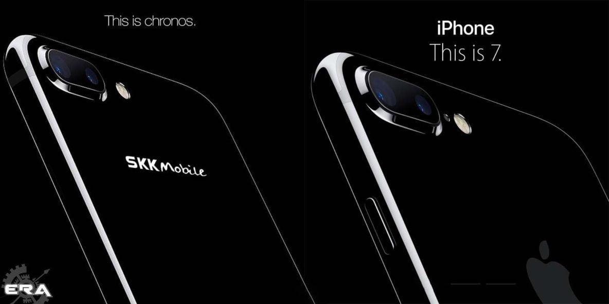 SKK Chronos Era, an iPhone 7 Plus imitation