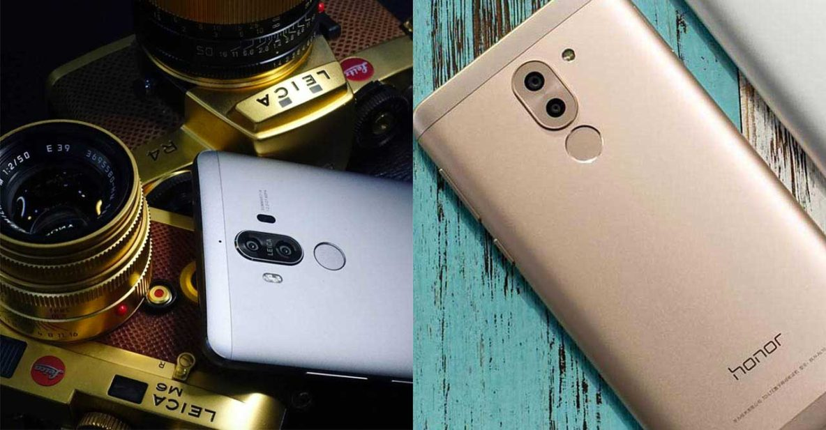 Huawei Mate 9 by Kristian Dowling and Honor 6x or Huawei GR5 2017