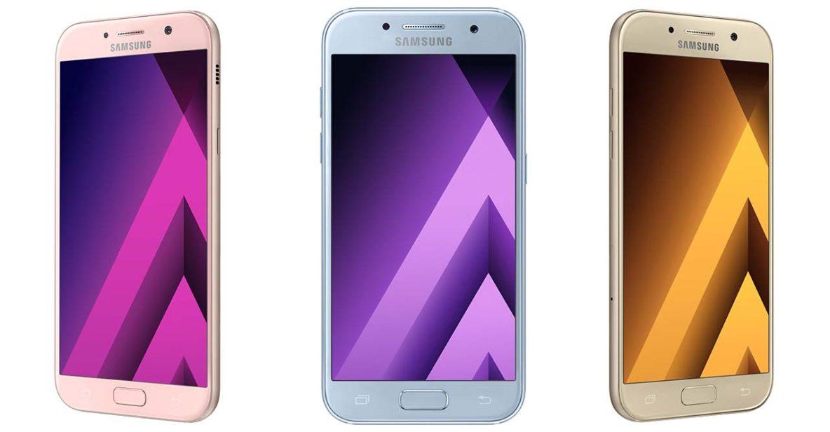 Samsung Galaxy A3, A5, and A7 2017