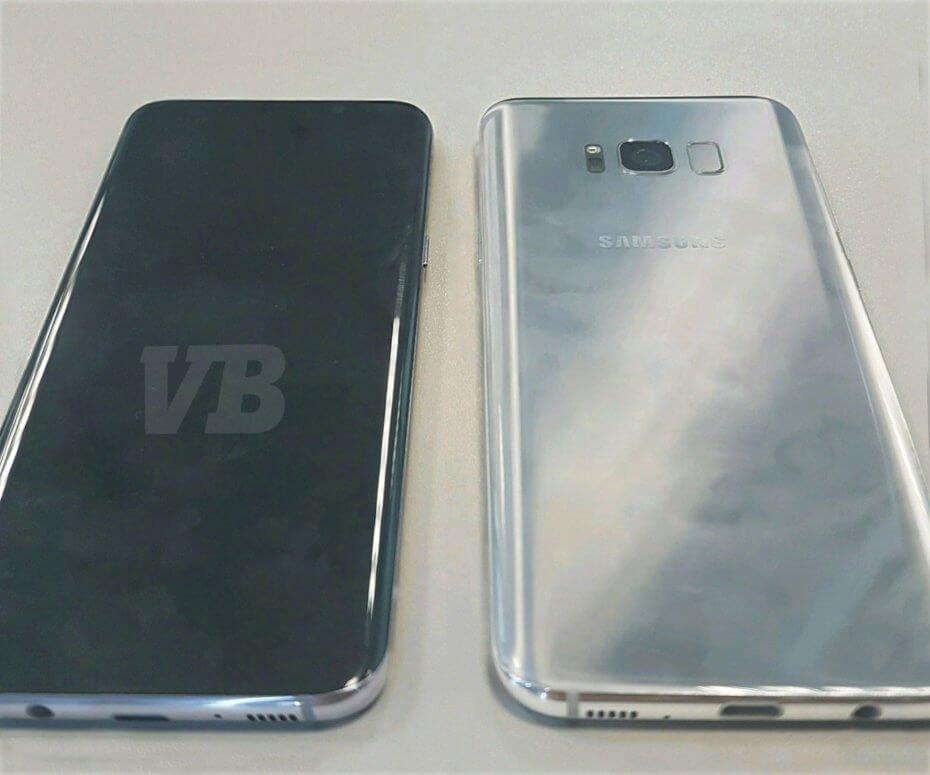 Samsung Galaxy S8 best look by @evleaks or Evan Blass of Venture Beat
