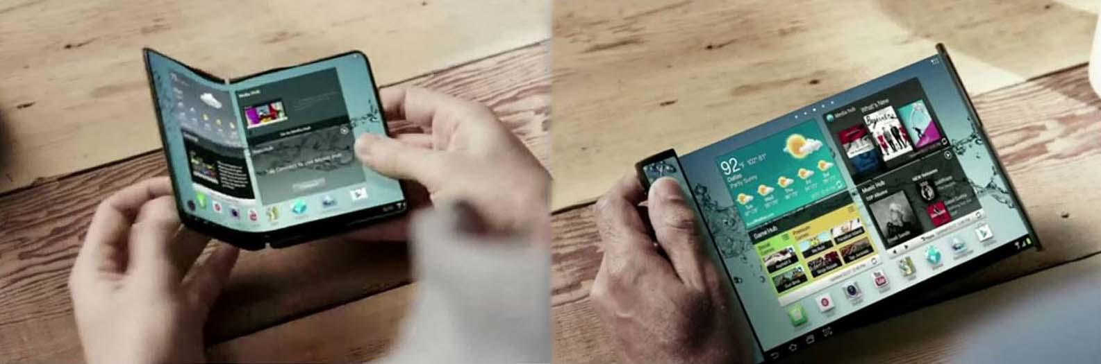 Samsung foldable phone-cum-tablet