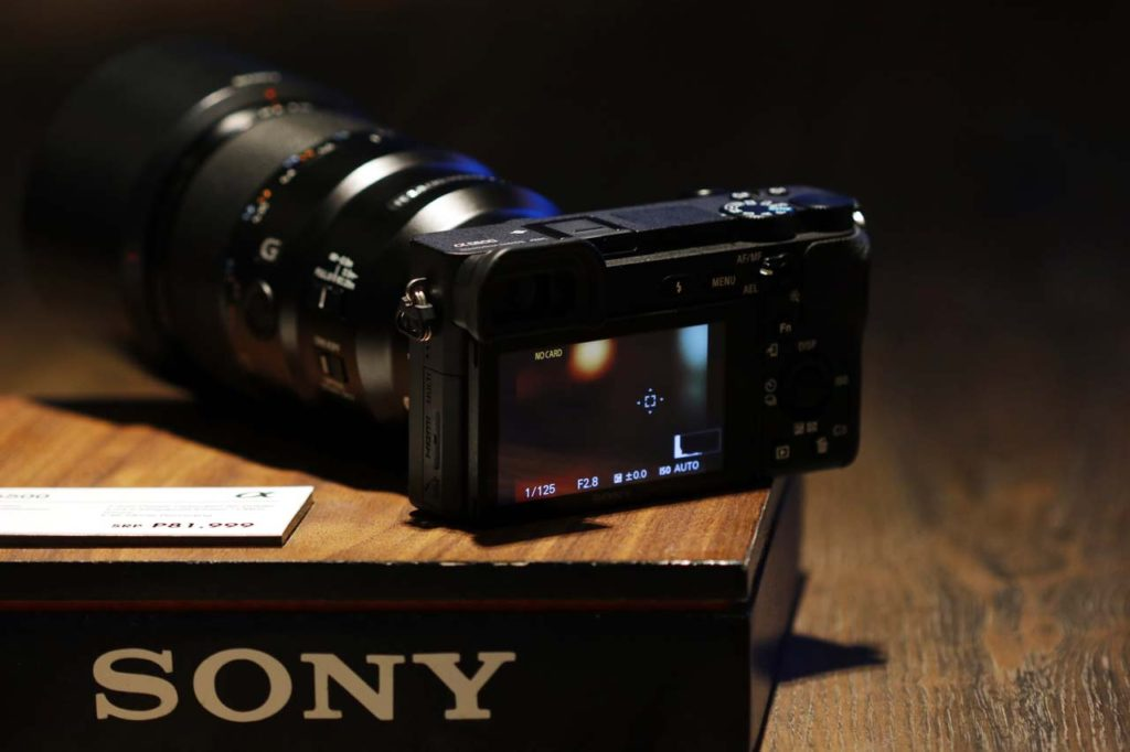 Sony A6500 hands-on and price in the Philippines