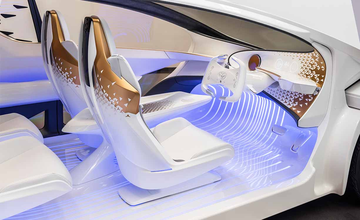 Toyota Concept-i at CES 2017