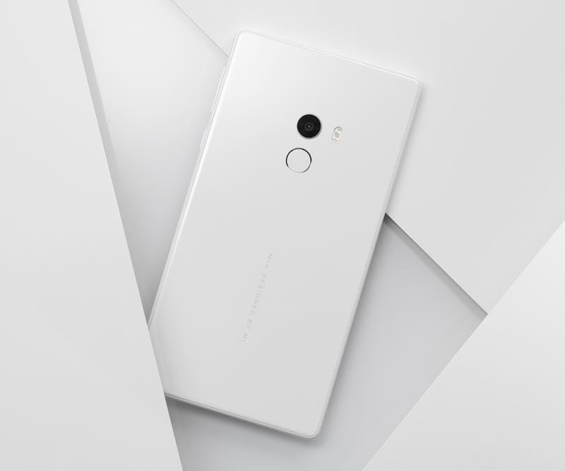 Xiaomi Mi MIX white variant at CES 2017