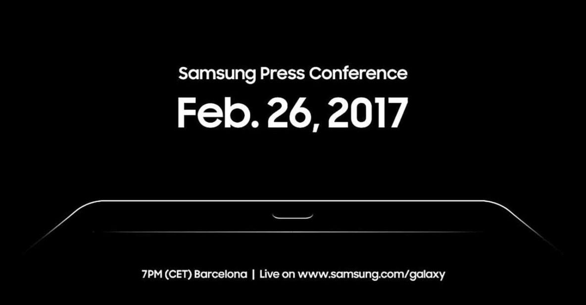 Samsung Galaxy Launch Event Invite to MWC 2017