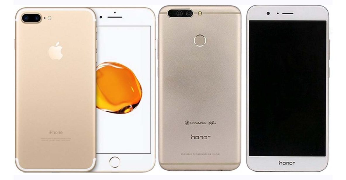 Apple iPhone 7 Plus vs Huawei Honor V9 on Revu Philippines