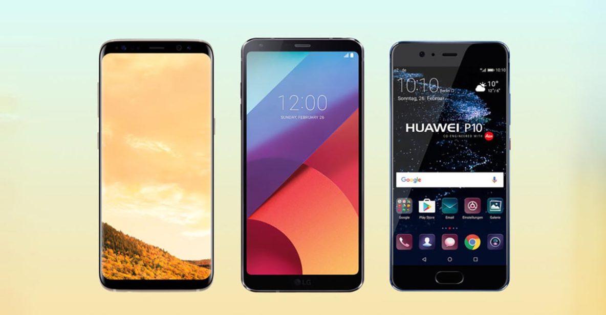 Samsung Galaxy S8 Plus_LG G6_Huawei P10 Plus_Philippines