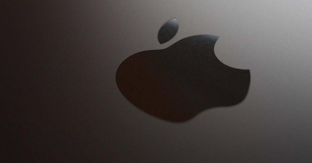 Apple logo via Laineema