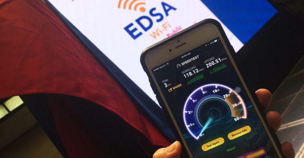 Free WiFi EDSA MRT_Revu Philippines
