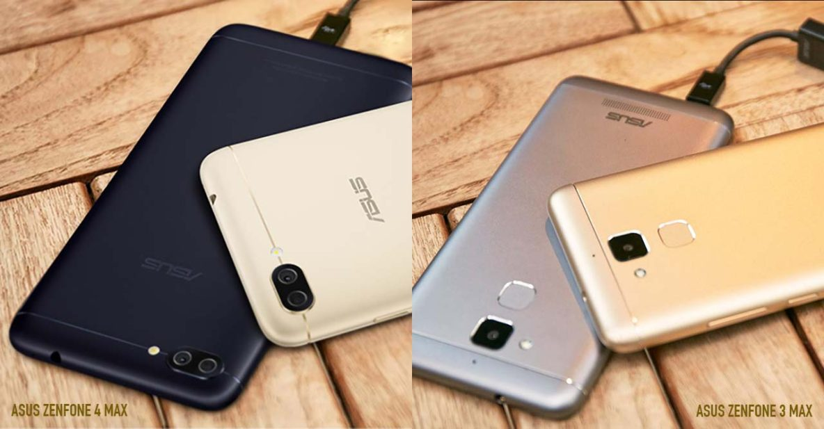 asus zenfone 4 max vs asus zenfone 3 max what has changed rev. Black Bedroom Furniture Sets. Home Design Ideas