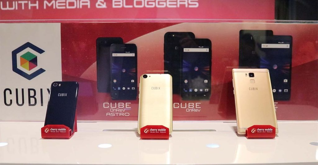 Cherry Mobile Cubix Cube OnRev series Lazada Philippines