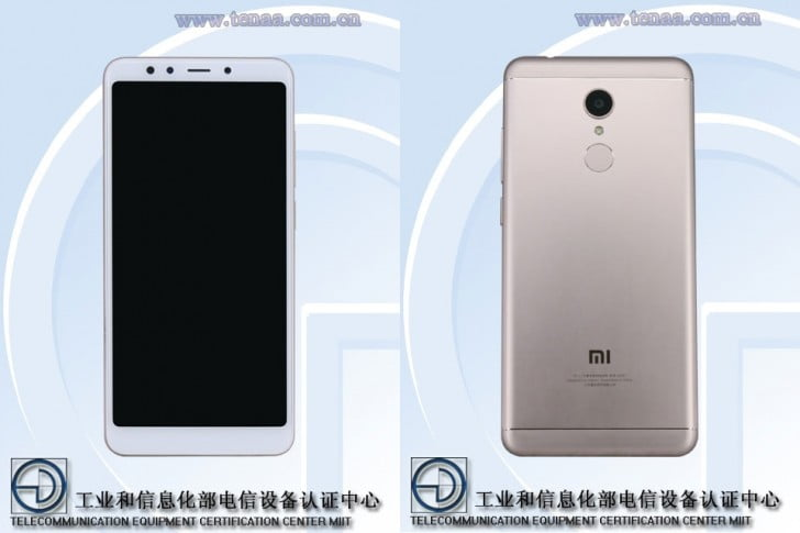 Xiaomi Redmi 5 with TENAA certification on Revu Philippines