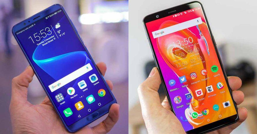 Honor View 10 vs OnePlus 5T price and specs on Revu Philippines