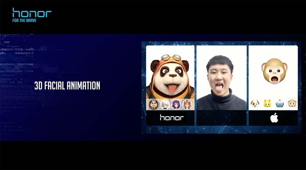 Animoji on Huawei Honor View 10 or V10