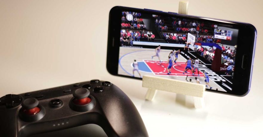 NBA 2K18 Android Bluetooth controller