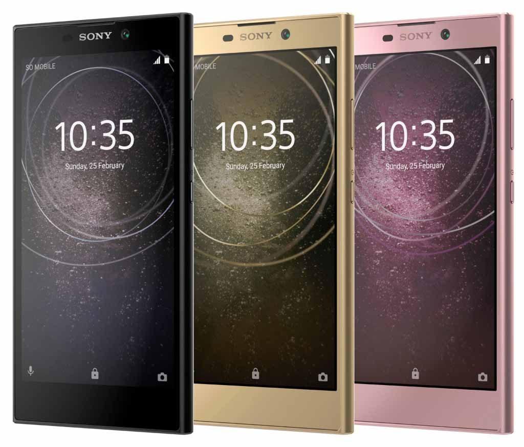 Sony Xperia L2 leak on Revu Philippines