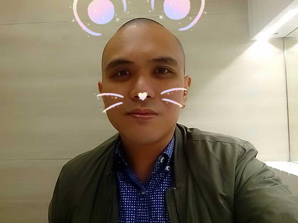 Bluboo S8 sample selfie on Revu Philippines