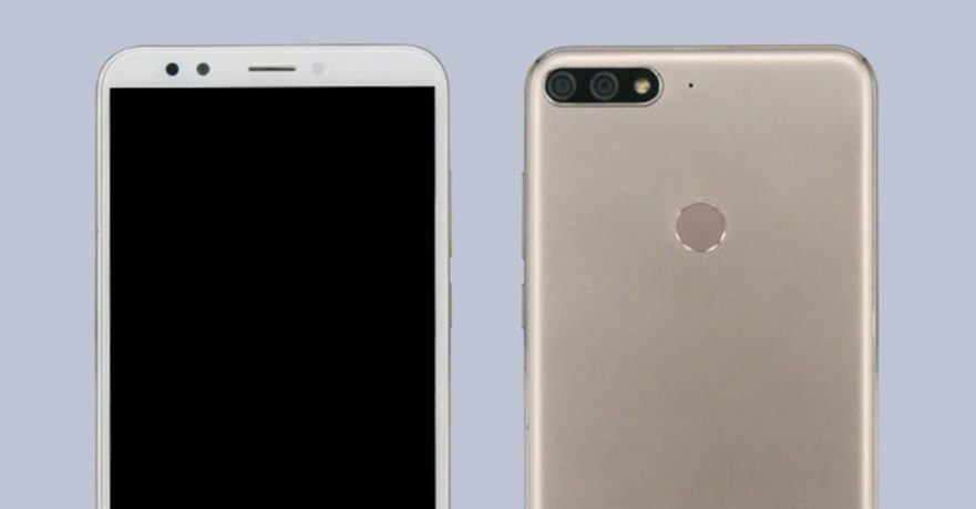 Huawei Nova 2 Lite front and back.