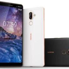 Nokia 7 Plus color options.