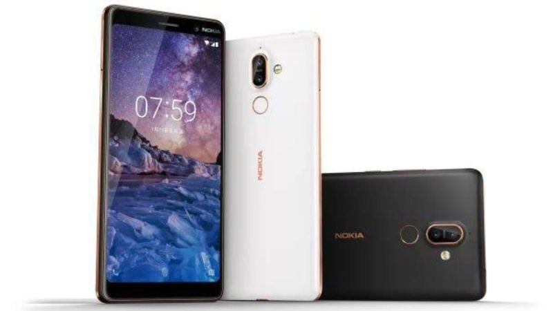 Nokia 7 Plus color options.