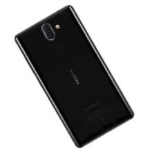 Nokia 8 Sirocco in black.