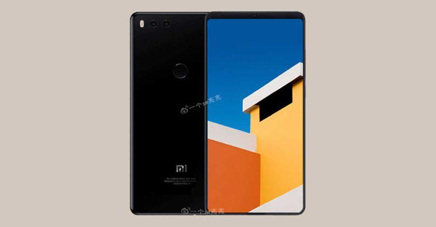 Xiaomi Mi 7 leaked render on Revu Philippines