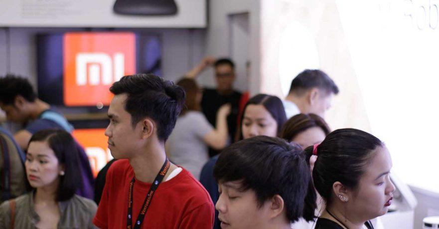 Xiaomi Mi Store TriNoma opening on Revu Philippines