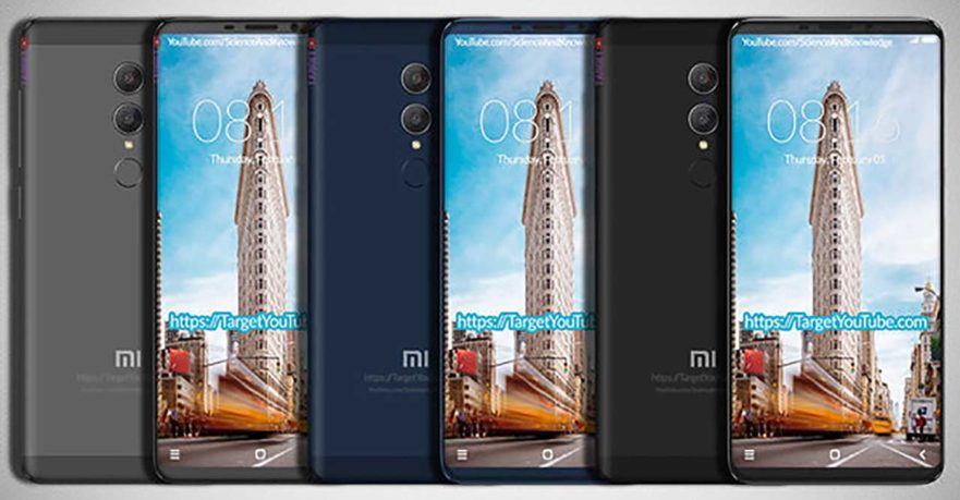 Xiaomi Redmi Note 5 design image leak on Revu Philippines