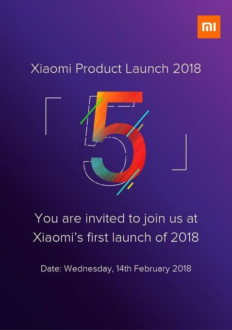 Xiaomi Redmi Note 5 launch invite on Revu Philippines