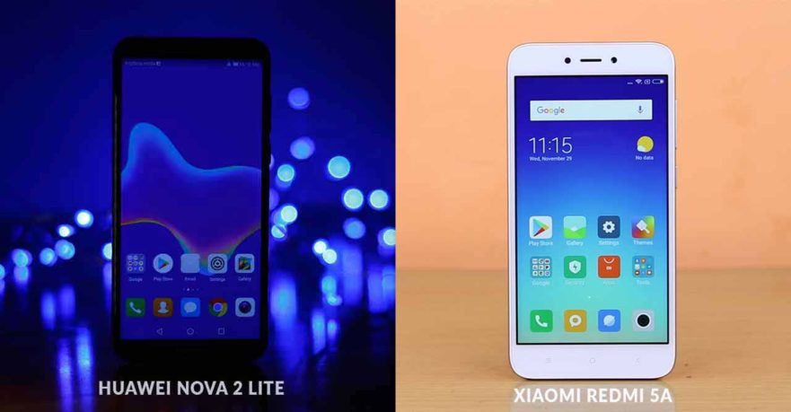 Huawei Nova 2 Lite Xiaomi Redmi 5A price-guessing contest on Revu Philippines