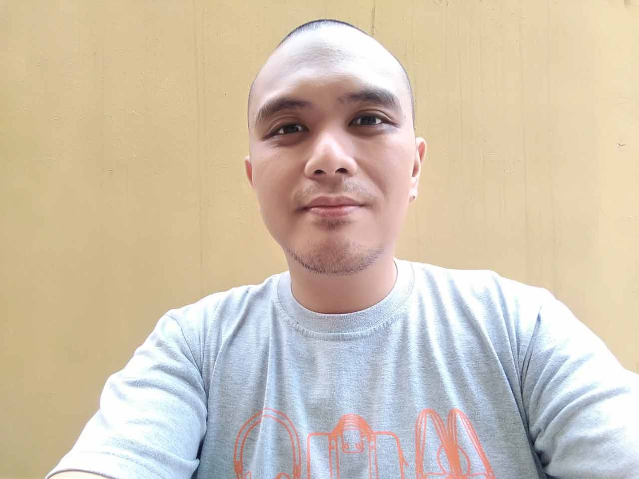 OPPO A83 sample selfie review on Revu Philippines