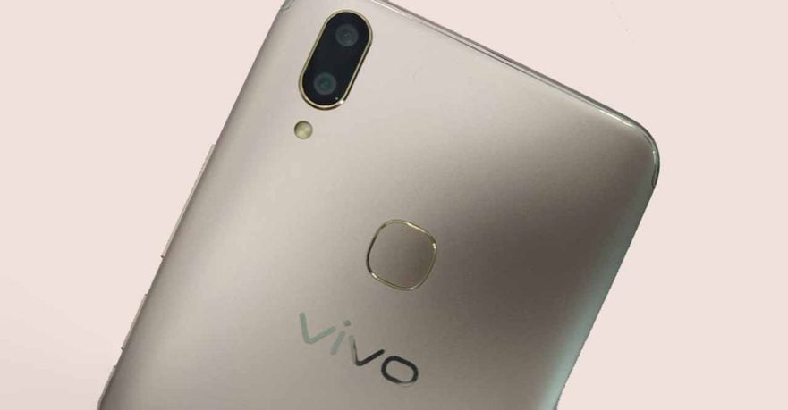 Vivo V9 live-photo leak on Revu Philippines