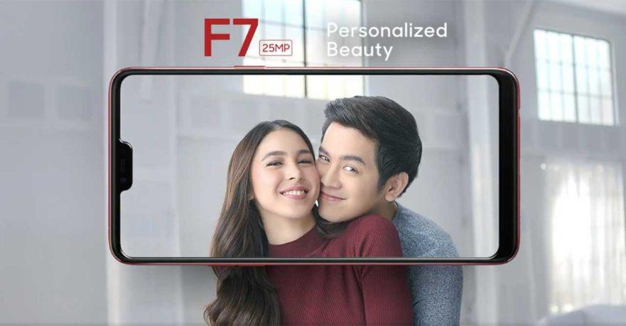 OPPO F7 price, preorder details, Joshua Garcia and Julia Barretto TVC on Revu Philippines