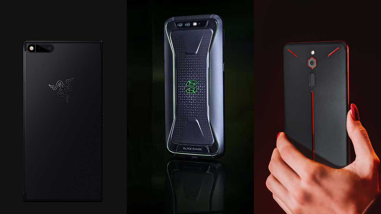 Razer Phone vs Xiaomi Black Shark vs ZTE Nubia Red Magic Phone specs and price comparison on Revu Philippines