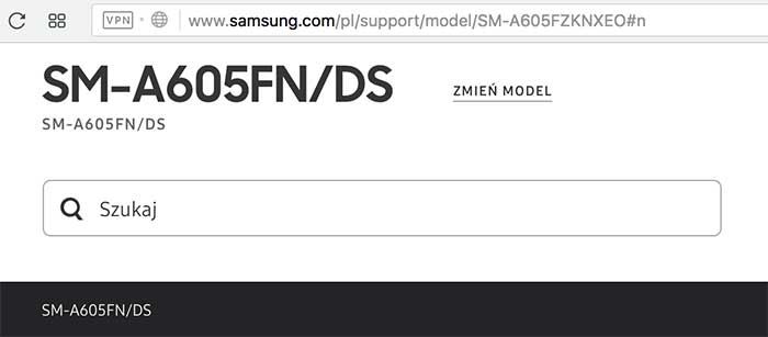 Samsung Galaxy A6 Plus support page on Revu Philippines