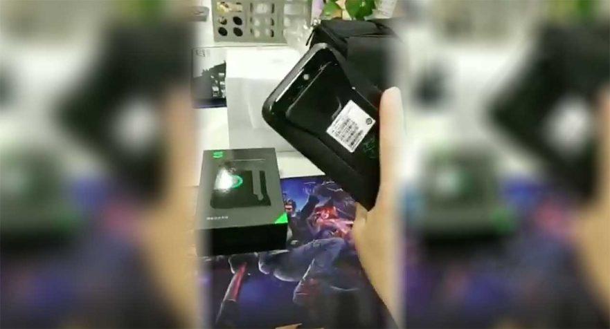 Xiaomi Black Shark gaming phone live video leak on Revu Philippines