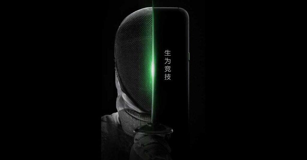 Xiaomi Black Shark gaming phone teaser on Revu Philippines