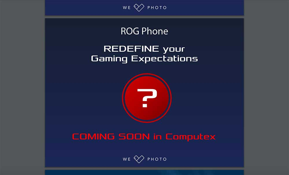 ASUS ROG gaming phone launch confirmation on Revu Philippines