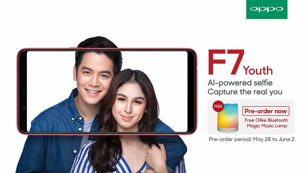 OPPO F7 Youth with JoshLia, preorder details, price and specs on Revu Philippines