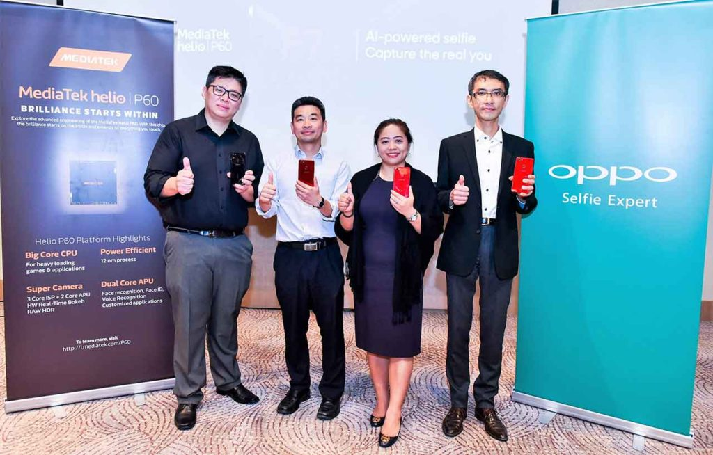 OPPO and MediaTek partnership on Revu Philippines