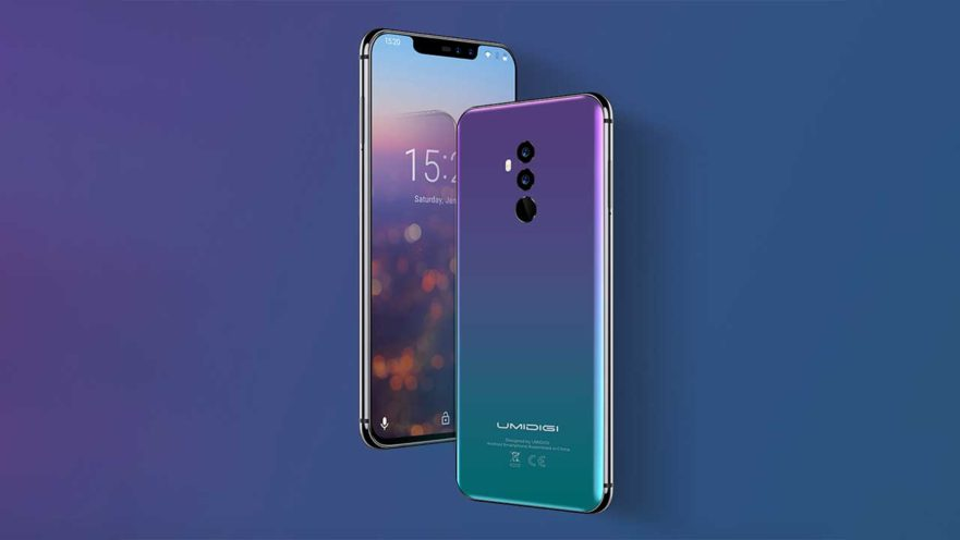 Umidigi Z2 and Z2 Pro are Huawei P20 and P20 Pro clones on Revu Philippines