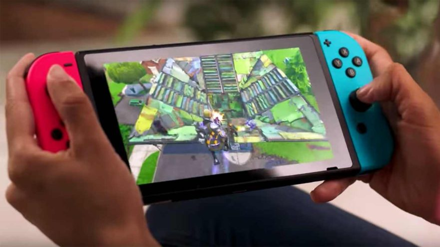 Fortnite on Nintendo Switch at E3 2018 via Revu Philippines