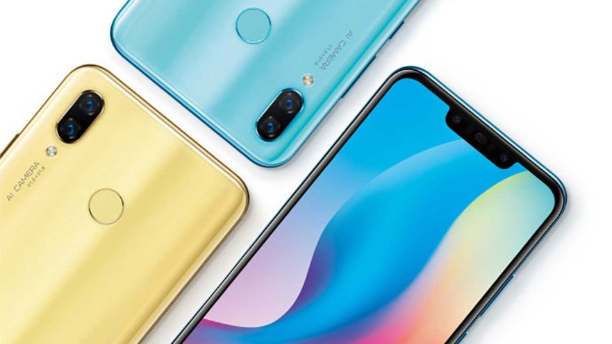 Huawei Nova 3 official poster shows front and back design on Revu Philippines