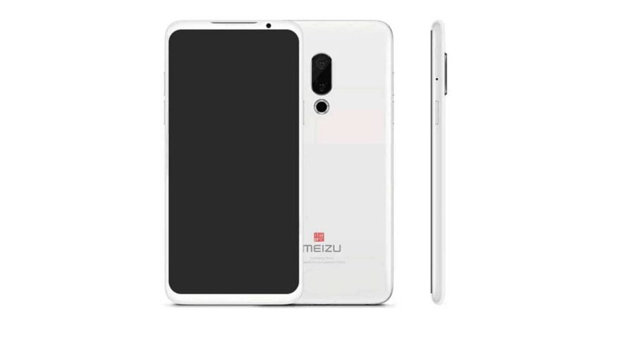 Meizu 16 Plus front and back design leak on Revu Philippines