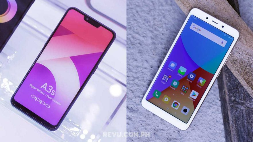 OPPO A3s vs Xiaomi Redmi 6A: price and specs comparison on Revu Philippines